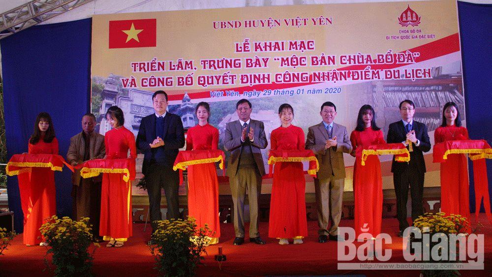 Chùa Bổ Đà (Việt Yên) được công nhận là điểm du lịch của tỉnh